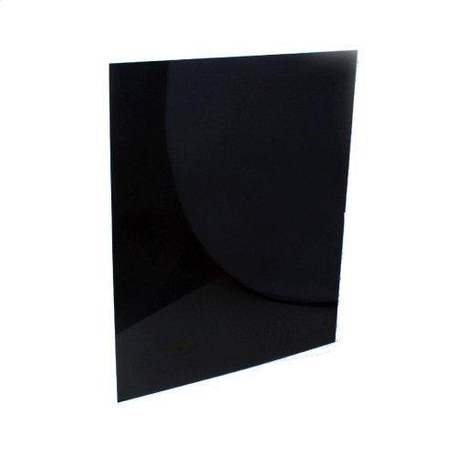 "30"" Reversible Range Backsplash - Black/white"