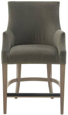 Keeley Counter Stool in Smoke
