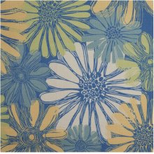 Home & Garden Rs022 Bl Square Rug 6'6'' X 6'6''