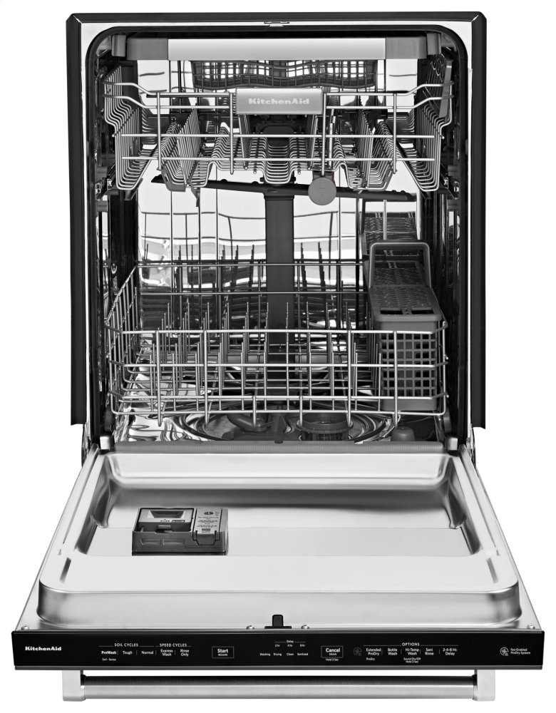 Beau KITCHENAID 39 Dba Dishwasher With Fan Enabled Prodry System And Printshield  Finish   Black Stainless