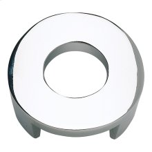 Centinel Round Knob 1 1/4 Inch (c-c) - Polished Chrome