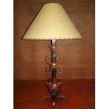 Three Star Metal Lamp