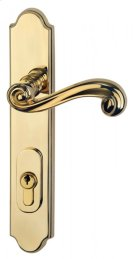 Traditional Multipoint Trim - Solid Brass in SB (Shaded Bronze, Lacquered) Product Image