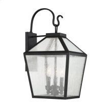 Woodstock 3 Light Outdoor Wall Lantern