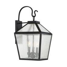 Woodstock 3 Light Outdoor Wall Lantern