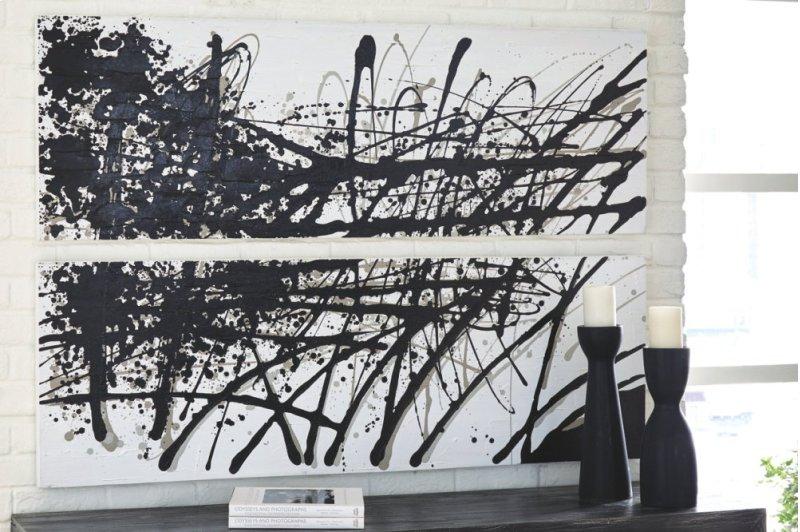 A8000276 In By Ashley Furniture In Orange Ca Wall Art Set 2cn