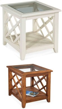Cross Roads End Table