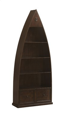 Tuscan Retreat® Boat Bookcase - Rustic Mahogany