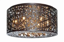 Inca 7-Light Flush Mount