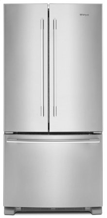 *SCRATCH AND DENT* 33-inch Wide French Door Refrigerator - 22 cu. ft.
