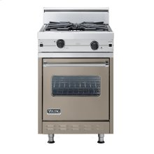 "Stone Gray 24"" Wok/Cooker Companion Range - VGIC (24"" wide range with wok/cooker, single oven)"