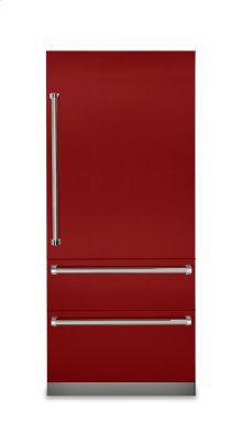 "36"" Fully Integrated Bottom-Freezer Refrigerator, Right Hinge/Left Handle"