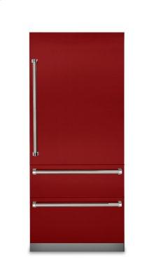 "36"" Fully Integrated Bottom-Freezer Refrigerator, Right Hinge/Left Handle"