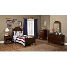 Westfield 5pc Twin Bedroom Set - Espresso