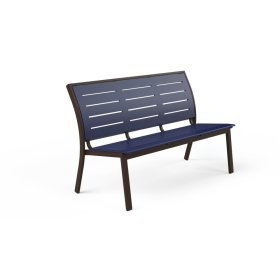 """Bazza Bench 56"""" Stacking Armless Bench"""