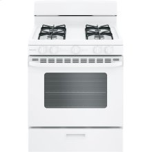 """Hotpoint® 30"""" Free-Standing Gas Range with Cordless Battery Ignition"""