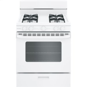 "HotpointHotpoint® 30"" Free-Standing Gas Range with Cordless Battery Ignition"