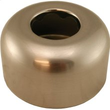"Brushed Nickel Escutcheon 1-1/4"" Tubular Box Pattern 3"" OD"