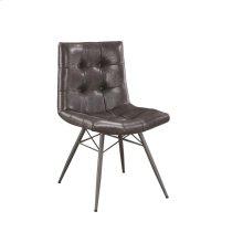 Hutchinson Industrial Grey Dining Chair