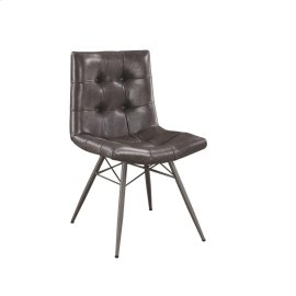 Hutchinson Industrial Grey Dining Chair
