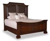 Egerton Queen Adjustable Height Panel Bed