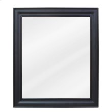 """20"""" x 24"""" Black mirror with beveled glass"""