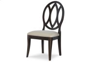 Everyday Dining by Rachael Ray Oval Back Side Chair - Peppercorn Product Image