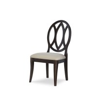 Everyday Dining by Rachael Ray Oval Back Side Chair - Peppercorn