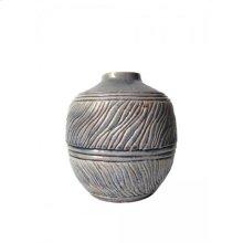 Round Ceramic Vase