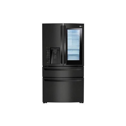 23 cu. ft. Smart wi-fi Enabled InstaView Door-in-Door® Counter-Depth Refrigerator **OPEN BOX** WEST LOCATION