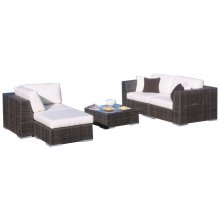 Atlantis 5 PC Sectional Set Deep Seating Set