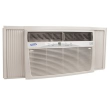 25K BTU Electronic control w/remote & supplemental heat Heat/Cool Air Conditioner