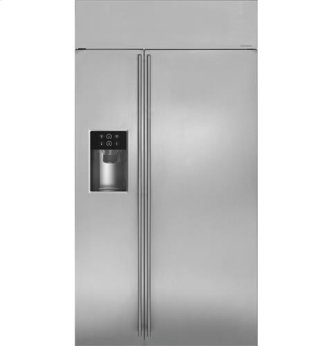 "42"" Built-In Side-By-Side Refrigerator with Dispenser"