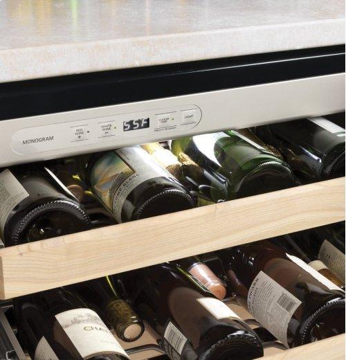 Monogram Stainless Steel Wine Reserve