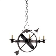 Visual Comfort SC5102BZ Eric Cohler Armillary 6 Light 35 inch Bronze Chandelier Ceiling Light