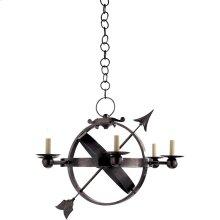 Visual Comfort SC5102BZ Eric Cohler Armillary 6 Light 35 inch Bronze Chandelier Ceiling Light