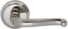 Interior Traditional Lever Latchset in (US14 Polished Nickel Plated, Lacquered)