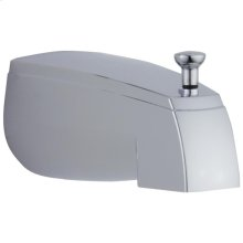 Chrome Tub Spout - Pull-Up Diverter