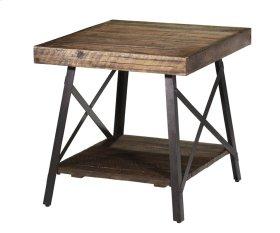 Crosswinds Rectangular End Table