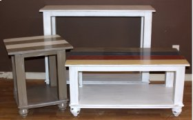 "#534 Palm Bay End Table 22""wx22""dx25.5""h"