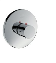 Chrome Thermostat for concealed installation