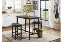 3-Piece Pack Counter Height Set