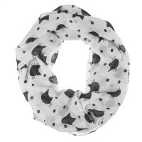 Cat Print Infinity Scarf Product Image