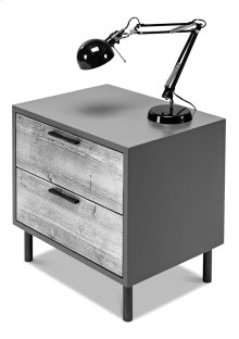 Colorado Modern Nightstand, Unfinished
