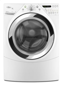 White Whirlpool® ENERGY STAR® Qualified Duet® Steam 4.5 cu. ft. I.E.C. Equivalent* Front Load Washer