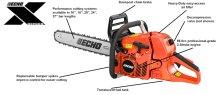 CS-620PW 59.8cc Professional-Grade 2-Stroke Engine Chain Saw