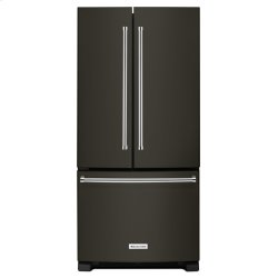 22 cu. Ft. 33-Inch Width Standard Depth French Door Refrigerator with Interior Dispense - Stainless Steel with PrintShield™ Finish