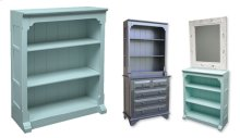 Provence Open Hutch/Bookcase