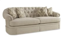 Collection One Oxford Tufted Skirted Sofa