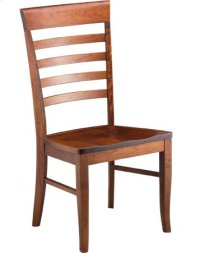 Burbank Side Chair w/ Wood Seat